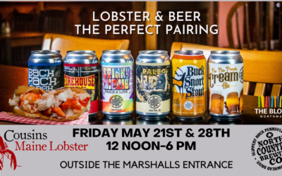 Cousins Maine Lobster and North Country Brewing rolling into The Block Northway