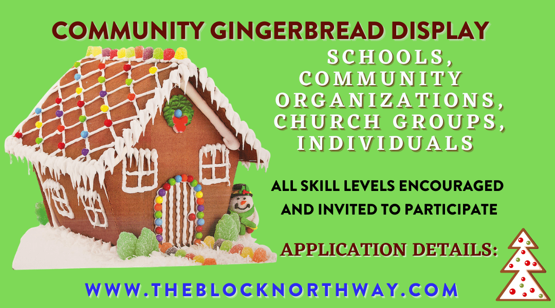 Holiday Gingerbread Display planned at The Block Northway