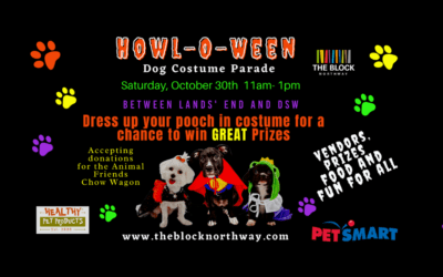 Halloween is going to the Dogs on Saturday, October 30th!